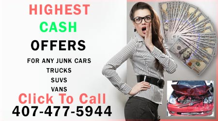 junk cars cash paid