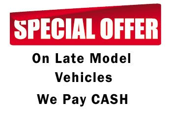 special cash offers junkyard cars
